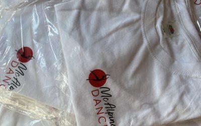 New McAlpine Dance T shirts!